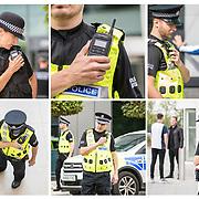 Motorola Police location shoot