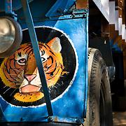 decoration on Kerala trucks