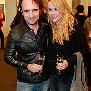 NLD/Amsterdam/20110324 - Opening Hers and His expositie van Eddy Zoey, Gerard Ekdom en partner Nicole Smits