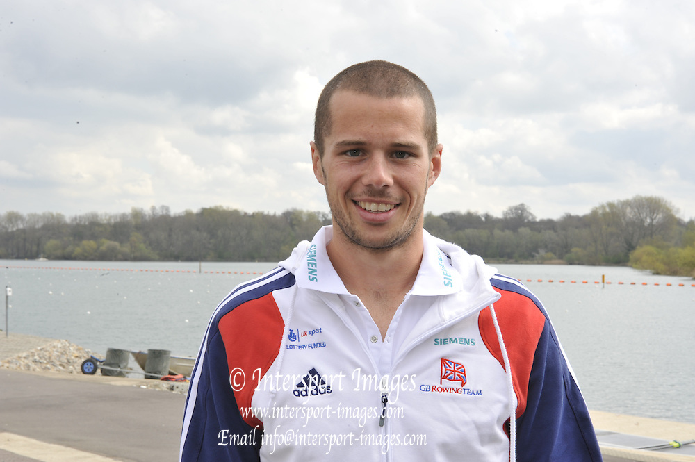 Caversham, Great Britain. GBR M8+ James FOAD  2012 GB Rowing World Cup Team Announcement Wednesday  04/04/2012  [Mandatory Credit; Peter Spurrier/Intersport-images]