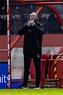 Lincoln City Manager Michael Appleton during the EFL Sky Bet League 1 match between Lincoln City and Shrewsbury Town at Sincil Bank, Lincoln, United Kingdom on 15 December 2020.