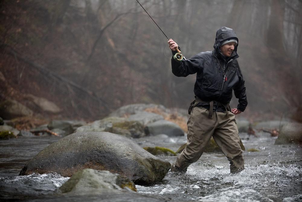 Virginia Fly Fishing on the Rapidan River.