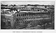 The battered walls of Fort Morgan, Mobile Bay, in 1864,from the book ' The Civil war through the camera ' hundreds of vivid photographs actually taken in Civil war times, sixteen reproductions in color of famous war paintings. The new text history by Henry W. Elson. A. complete illustrated history of the Civil war