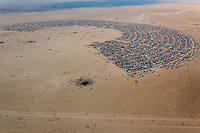 Aerial Photo of Black Rock City 2013