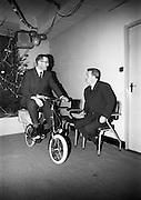 """22/12/1965<br /> 12/22/1965<br /> 22 December 1965<br /> <br /> <br /> Presentation of the :""""Pink Paraffin"""" Bicycle awards"""
