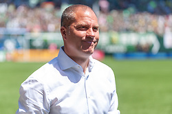 May 13, 2018 - Portland, OR, U.S. - PORTLAND, OR - MAY 13: Portland Timbers head coach Giovanni Savarese moments before the Portland Timbers 1-0 victory over the Seattle Sounders on May 13, 2018, at Providence Park in Portland, OR. (Photo by Diego Diaz/Icon Sportswire) (Credit Image: © Diego Diaz/Icon SMI via ZUMA Press)
