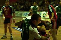 Handball, Norge-Algerie, Kongsberghallen januar 2001. Redouane Saidi, Algerie.