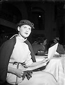 1955 - N.A.I.D.A. Annual Fashion Parade at the Gresham Hotel