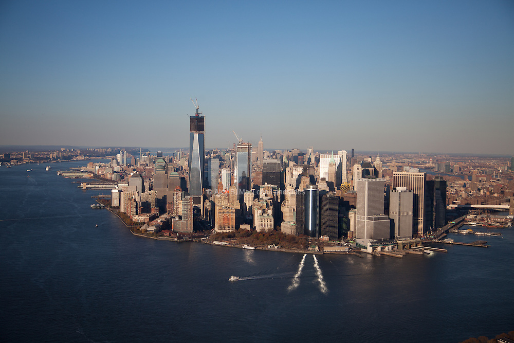 Lower Manhattan suffered extensive infrastructure damage from street and tunnel flooding.