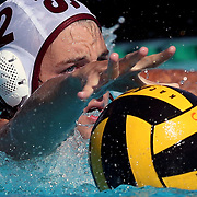 Saddleback College's Edward Montgomery (12) reaches out for the ball during the Orange Empire Conference semi-final playoff game between the Saddleback College Gauchos and the Golden West College Rustlers at Saddleback College in Mission Viejo on November 4, 2016.<br /> <br /> Photo by Darren Yamashita / Sports Shooter Academy