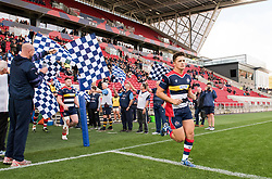 Callum Sheedy of Bristol Rugby runs out at Ashton Gate Stadium - Mandatory by-line: Paul Knight/JMP - 22/10/2017 - RUGBY - Ashton Gate Stadium - Bristol, England - Bristol Rugby v Doncaster Knights - B&I Cup