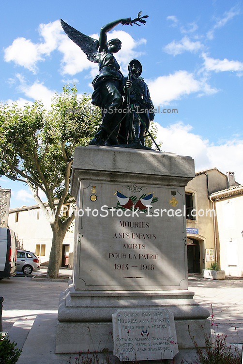 First world war memorial, Provence, France