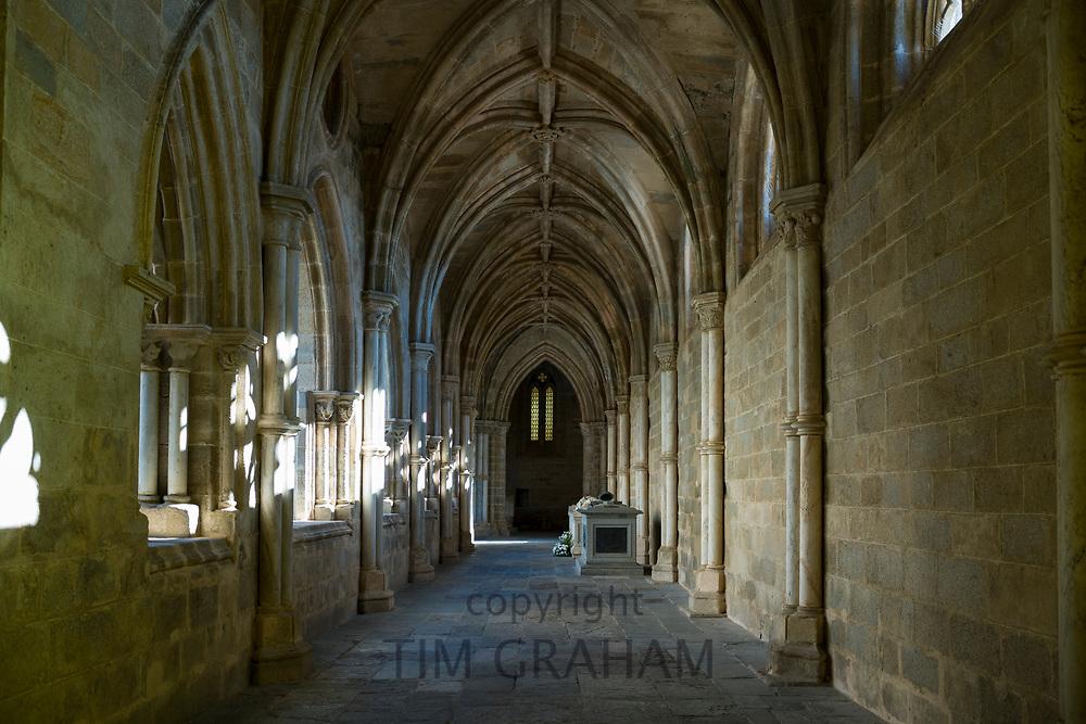 Cloisters of the Cathedral of Evora- Claustro da Se - in Portugal