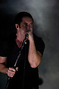 Sunday, August 3, 2008; Nine Inch Nails performs at Lollapalooza 2008..Photo by Bryan Rinnert