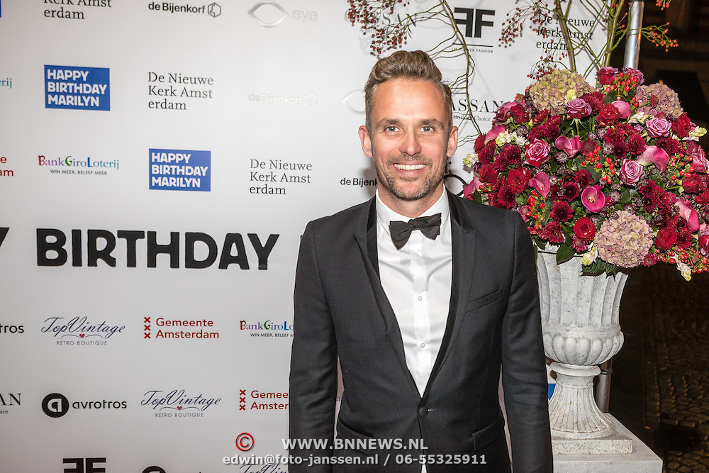 NLD/Amsterdam/20160929 - VIP opening 90 Jaar Marilyn, Patrick Martens