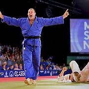 Judo. Men's 100KG Semi -Final.  C.Sherrington (Scotland) beats S.Rosser(New Zealand).