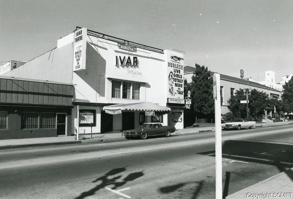 1975 Ivar Theater on Ivar St.