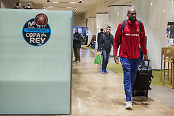 February 17, 2019 - Madrid, Madrid, Spain - Chris Singleton during FC Barcelona Lassa victory over Real Madrid (93 - 94) in Copa del Rey 2019 game (final) celebrated in Madrid (Spain) at Wizink Center. February 17th 2019. (Credit Image: © Juan Carlos Garcia Mate/Pacific Press via ZUMA Wire)