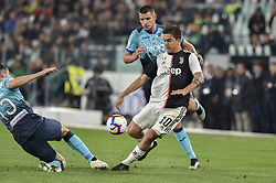 May 19, 2019 - Turin, Turin, Italy - Paulo Dybala of Juventus FC and Berat Djimsiti,  of Atalanta BC during the Serie A match at Allianz Stadium, Turin (Credit Image: © Antonio Polia/Pacific Press via ZUMA Wire)