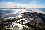 Nederland, Friesland, Vlieland, 28-02-2016; West-Vlieland met Kroon's Polders in de voorgrond. Zicht op de Vliehors, Texel aan de horizon.<br /> Wadden island Vlieland and western part with former polders, Wadden sea. <br /> luchtfoto (toeslag op standard tarieven);<br /> aerial photo (additional fee required);<br /> copyright foto/photo Siebe Swart