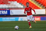 Charlton Athletic midfielder Jake Forster-Caskey (8) during the EFL Sky Bet League 1 match between Charlton Athletic and Swindon Town at The Valley, London, England on 23 January 2021.