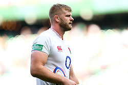 George Kruis of England after England win 57-15 - Rogan/JMP - 24/08/2019 - RUGBY UNION - Twickenham Stadium - London, England - England v Ireland - Quilter Series.