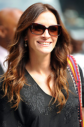 Aug. 04, 2010 - New York, New York, USA -   . . . . .  August 4 2010, New York City Actress Julia Roberts made an appearance at the 'Late Show with David Letterman' on August 4 2010 in New York City  (Credit Image: © Sharkpixs/ZUMApress.com)
