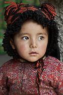 A young girl in the town of Kargil, Kargil District, Ladakh, J&K, India