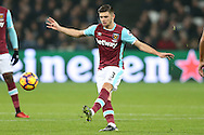 Aaron Cresswell of West Ham United in action. Premier league match, West Ham Utd v Hull city at the London Stadium, Queen Elizabeth Olympic Park in London on Saturday 17th December 2016.<br /> pic by John Patrick Fletcher, Andrew Orchard sports photography.