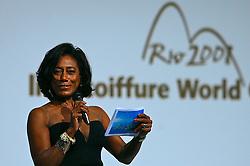 A jornalista Glória Maria apresenta os shows no 20 Congresso Mundial da Intercoiffure - ICD Rio 2008, que acontece de 18 a 20 de maio, no hotel Intercontinental, no Rio de Janeiro . FOTO: Jefferson Bernardes / Preview.com