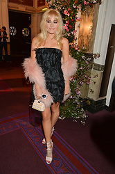 PIXIE LOTT at The Backstage Gala hosted by Diana Vishneva , Principal Dancer of the Mariinsky and American Ballet Theatre, and Natalia Vodianova in aid of The Naked Heart Foundation held at The London Coliseum, St.Martin's Lane, London on 17th April 2015.