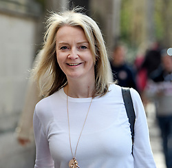 © Licensed to London News Pictures. 11/04/2019. London, UK. Chief Secretary to the Treasury LIZ TRUSS is seen in Westminster. British PM Theresa May was last night granted an extension to the date the UK will leave the EU, until October 31st of this year. Photo credit: Ben Cawthra/LNP