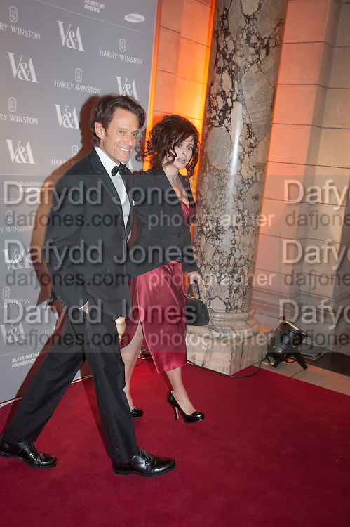MICHAEL CHAPMAN; HELENA BONHAM-CARTER, Hollywood Costume gala dinner, V and A. London. 16 October 2012