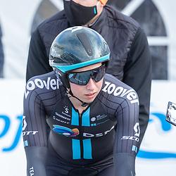 11-03-2021: Wielrennen: Healthy Ageing Tour: Lauwersoog<br />Lorena Wiebes