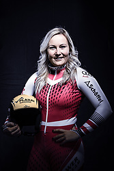 12.10.2019, Olympiahalle, Innsbruck, AUT, FIS Weltcup Ski Alpin, im Bild Tamara Tippler // during Outfitting of the Ski Austria Winter Collection and the official Austrian Ski Federation 2019/ 2020 Portrait Session at the Olympiahalle in Innsbruck, Austria on 2019/10/12. EXPA Pictures © 2020, PhotoCredit: EXPA/ JFK