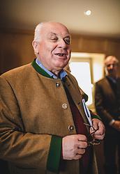 THEMENBILD - Franz Schausberger am Sonnblick Observatorium, aufgenommen am 20. November 2018, Rauris, Österreich // Franz Schausberger at the Observatory Sonnblick on 2018/11/20, Rauris, Austria. EXPA Pictures © 2018, PhotoCredit: EXPA/ JFK