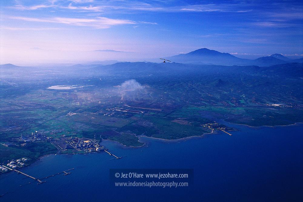 Cilegon, Banten, Java, Indonesia.