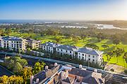 Aerial Ocean View of Newport Beach Country Club