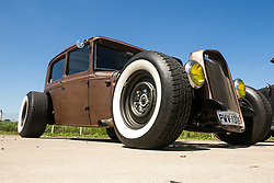 March 23, 2019 - Classic car is seen at expo that gathers collectors and fanatics at the Campo de Marte airport in the north of São Paulo (Credit Image: © Dario Oliveira/ZUMA Wire)