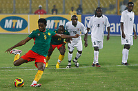Photo: Steve Bond/Richard Lane Photography.<br /> Cameroun v Zambia. Africa Cup of Nations. 26/01/2008. Samuel Eto'o (L) strokes home the penalty