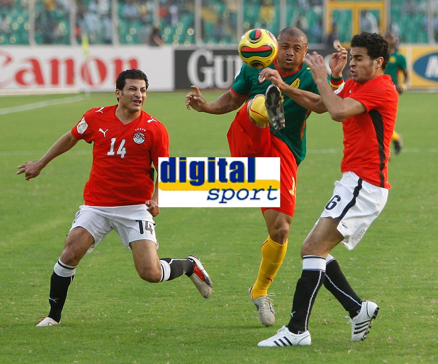Photo: Steve Bond/Richard Lane Photography.<br /> Egypt v Cameroun. Africa Cup of Nations. 22/01/2008.