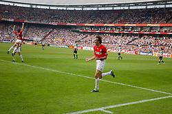 01-06-2003 NED: Amstelcup finale FC Utrecht - Feyenoord, Rotterdam<br /> FC Utrecht pakt de beker door Feyenoord met 4-1 te verslaan / Igor Gluscevic scoort de 3-0