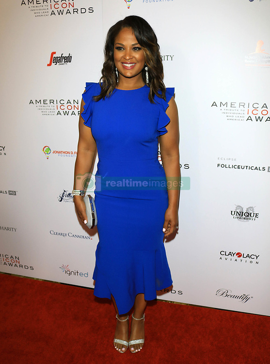 Laila Ali at the American Icon Awards in Beverly Hills, CA.