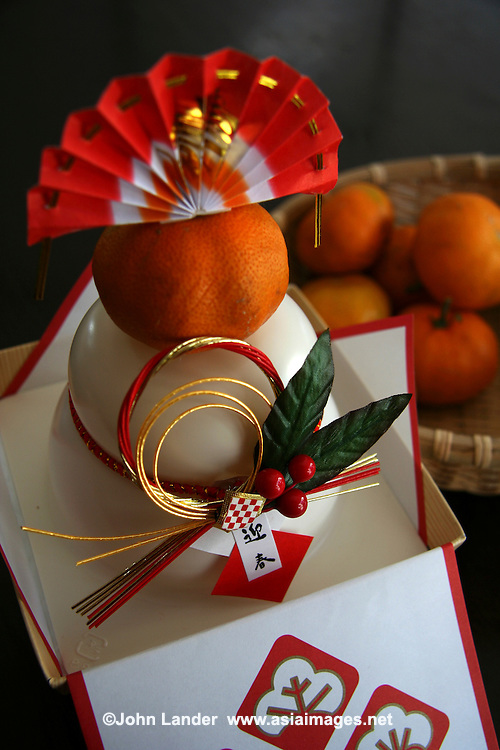 Kagami Mochi, Japanese New Year Decoration | John Lander ...