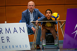 Luca Ratterman and Ralph during the Olaf Ratterman Memorial match between Netherlands vs. Eredivisie All Star team on May 03, 2021 in Barneveld.