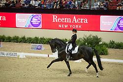 Von Bredow-Werndl Jessica, (GER), Unee BB<br /> Longines FEI World Cup™ Dressage Final I<br /> Las Vegas 2015<br />  © Hippo Foto - Dirk Caremans<br /> 17/04/15