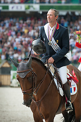 Patrice Delaveau, (FRA), Orient Express HDC - Show Jumping Final Four - Alltech FEI World Equestrian Games™ 2014 - Normandy, France.<br /> © Hippo Foto Team - Becky Stroud<br /> 07/09/2014