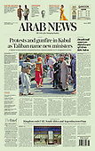 September 08, 2021 - ASIA-PACIFIC: Front-page: Today's Newspapers In Asia-Pacific