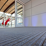 Sustainability photos of Terminal B for Lionakis at Sacramento International Airport