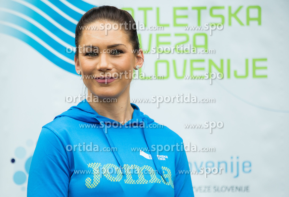 Snezana Vukmirovic Rodic during press conference when Slovenian athletes and their coaches sign contracts with Athletic federation of Slovenia for year 2016, on February 25, 2016 in AZS, Ljubljana, Slovenia. Photo by Vid Ponikvar / Sportida